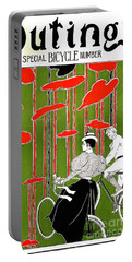 Portable Battery Charger featuring the photograph Vintage Bicycle Issue 1896 by Padre Art