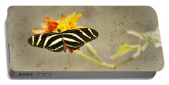 Vintage Butterfly Portable Battery Charger