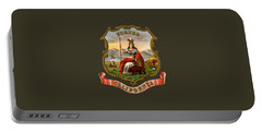 Vintage California Coat Of Arms Portable Battery Charger