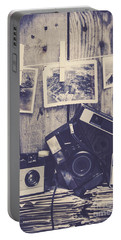 Vintage Camera Gallery Portable Battery Charger