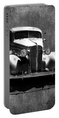 Vintage Car Art 0443 Bw Portable Battery Charger