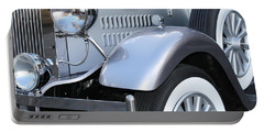 Portable Battery Charger featuring the photograph Vintage Car by Mary-Lee Sanders