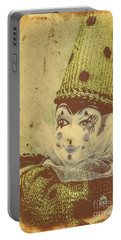 Vintage Circus Postcard Portable Battery Charger