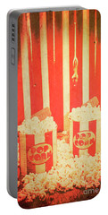Vintage Classical Cinema Interval Concept Portable Battery Charger