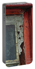Portable Battery Charger featuring the photograph Vintage Crackle by Ann E Robson