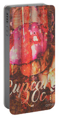 Vintage Cupcake Tin Sign Portable Battery Charger