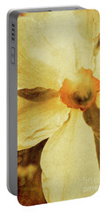 Vintage Daffodil Haze Portable Battery Charger
