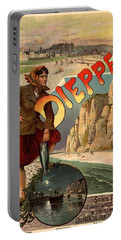 Vintage Dieppe Advertisement Portable Battery Charger by Andrew Fare