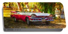 Vintage Dodge Custom Royal 1957 Portable Battery Charger