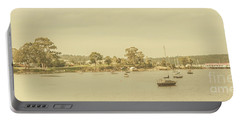 Vintage Dover Harbour Tasmania Portable Battery Charger