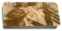 Vintage Fashion Design Portable Battery Charger