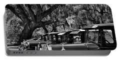 Vintage Ford Line-up At Magnolia Plantation - Charleston Sc Portable Battery Charger
