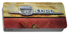 Vintage Ford Logo Portable Battery Charger