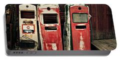 Vintage Gas Pumps Portable Battery Charger