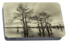 Portable Battery Charger featuring the photograph Vintage Henderson Swamp  by Andy Crawford