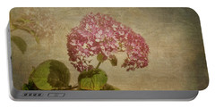Portable Battery Charger featuring the photograph Vintage Hydrangea by Elaine Teague