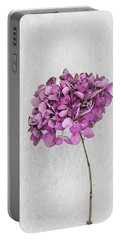 Vintage Hydrangea Portable Battery Charger