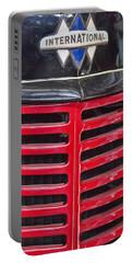 Vintage International Truck Portable Battery Charger by Douglas Barnard