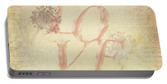 Vintage Love Portable Battery Charger by Caitlyn Grasso