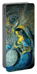 Vintage - Meera - Singing For Krishna Portable Battery Charger