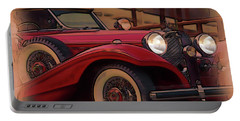 Vintage Mercedes Portable Battery Charger