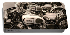 Vintage Motorcycles Portable Battery Charger