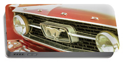 Vintage Mustang Portable Battery Charger by Caitlyn Grasso