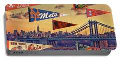 Vintage New York Mets Portable Battery Charger