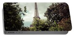 Vintage Paris Landscape Portable Battery Charger