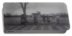 Vintage Photograph 1902 New Bern North Carolina Sharecroppers Portable Battery Charger
