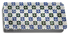 Vintage Portuguese Tiles Portable Battery Charger