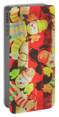 Vintage Pull String Puppets Portable Battery Charger by Jorgo Photography - Wall Art Gallery