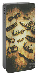Vintage Romance Portable Battery Charger