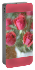 Portable Battery Charger featuring the photograph Vintage Rose Bouquet by Diane Alexander