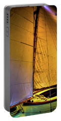 Portable Battery Charger featuring the photograph Vintage Sailboat by David Patterson