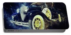Vintage Shebang Portable Battery Charger