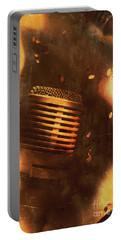 Vintage Sound Check Portable Battery Charger