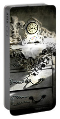 Portable Battery Charger featuring the photograph Vintage Time by Diana Angstadt