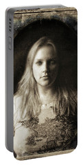 Vintage Tintype Ir Self-portrait Portable Battery Charger
