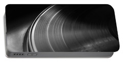 Vinyl Record And Turntable Portable Battery Charger by Angelo DeVal