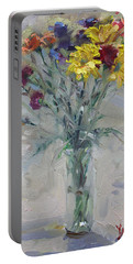 Viola's Flowers Portable Battery Charger