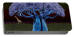 Violet Blue Baobab Portable Battery Charger