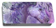 Violet Fantasy Portable Battery Charger