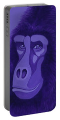 Violet Gorilla Portable Battery Charger