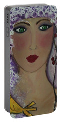 Violet Queen Portable Battery Charger