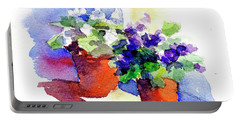Violets Are Blue Portable Battery Charger