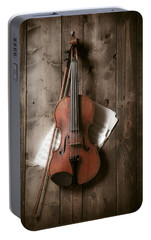Violin Portable Battery Charger by Garry Gay