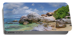 Portable Battery Charger featuring the photograph Virgin Gorda The Baths by Olga Hamilton