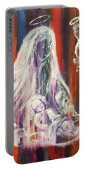 Virgin Mary And Baby Jesus Portable Battery Charger