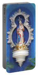 Virgin Mary Shrine Portable Battery Charger